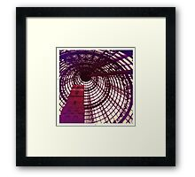 Fancy Spiral Dome Framed Print