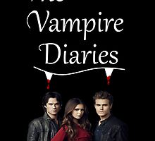 TVD - The Vampire Diaries - Elena, Damon and Stefan - (Designs4You) by Skandar223