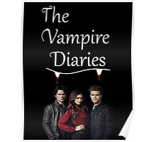 TVD - The Vampire Diaries - Elena, Damon and Stefan - (Designs4You) Poster