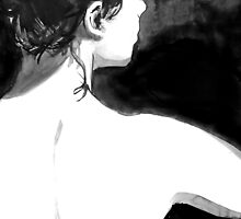 figure from behind by Loui  Jover