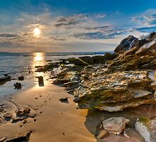 Sunrise At Point Lonsdale by shadesofcolor