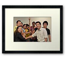 Celebrating diversity Framed Print