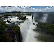Iguazu Falls, Brazilian side Photographic Print