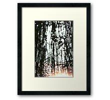 Frozen Lake - Denmark Framed Print