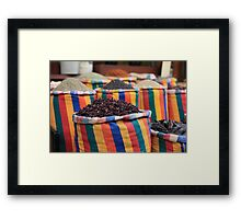 Variety is the spice of life Framed Print