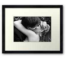 1st Kiss Framed Print
