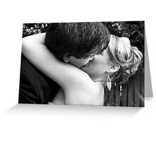1st Kiss Greeting Card