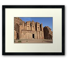 Sunset at the Monastery Framed Print