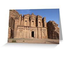 Sunset at the Monastery Greeting Card