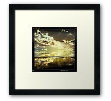 Moody Skies Series- No.1 Framed Print
