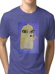 Condom Man Tri-blend T-Shirt