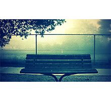 bench  Photographic Print