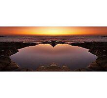 Ocean Heart Photographic Print