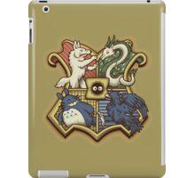Ghibliwarts Crest iPad Case/Skin