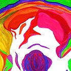 """"""" Psychedelic Brain Damage""""-Homage to Pink Floyd. by Sesha"""