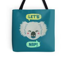 Sleepy Koala  Tote Bag