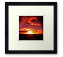 moody Skies Series- No.9 Framed Print