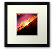 moody Skies Series- No.10 Framed Print