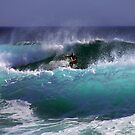 Gunnamatta Surfer by dale rogers