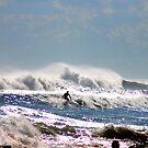 Last Surf on Gunnamatta by dale rogers