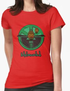 M'BUDU CLOCK  Womens Fitted T-Shirt