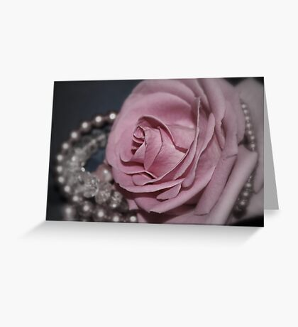Bridal Pink Greeting Card