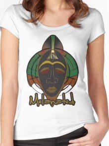 U'ACWANDI Women's Fitted Scoop T-Shirt