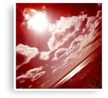Sunshine through the clouds -  Series No.1 Canvas Print