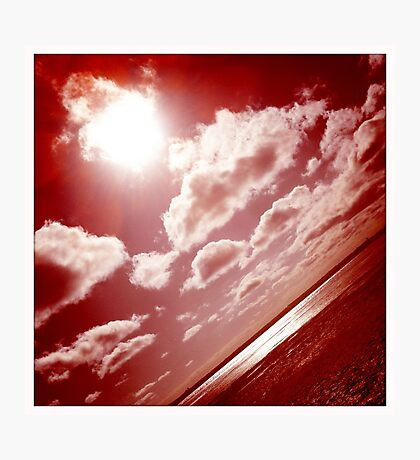 Sunshine through the clouds -  Series No.1 Photographic Print