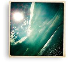 sunshine through the clouds -  Series No.4 Canvas Print
