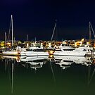 Still Waters -Raby Bay Harbour Cleveland Qld by Beth  Wode
