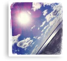 Sunshine through the clouds -  Series No.8 Canvas Print
