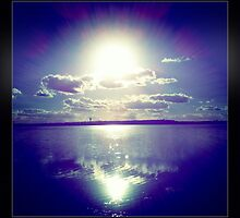 Sunshine through the clouds -  Series No.10 by LJ_©BlaKbird Photography