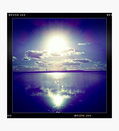 Sunshine through the clouds -  Series No.10 Photographic Print