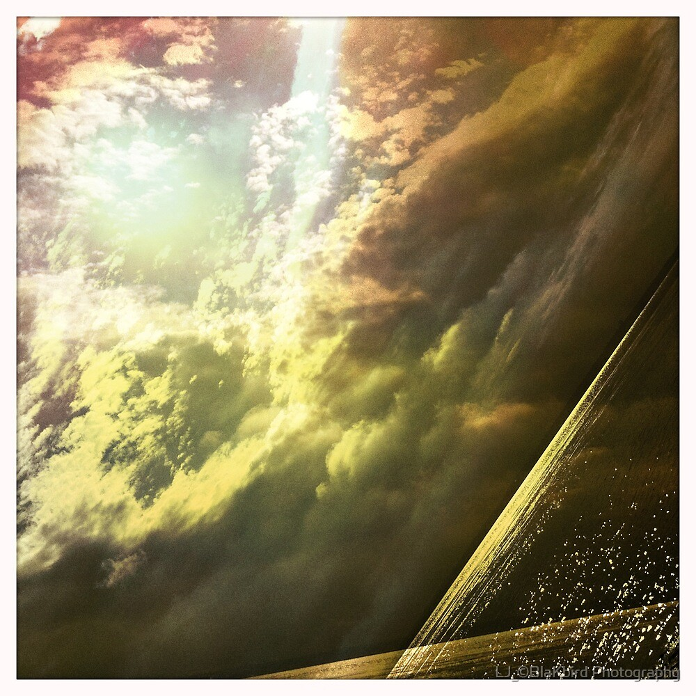 Sunshine through the clouds -  Series No.11 by LJ_©BlaKbird Photography
