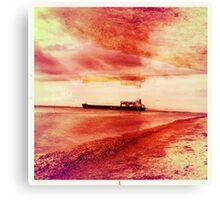 Ships Passing Through- Series No.1 Canvas Print
