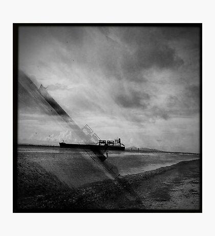 Ships Passing Through- Series No.2 Photographic Print