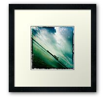 Ships Passing Through- Series No.3 Framed Print