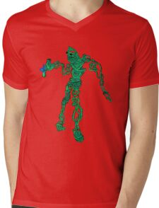 wire sculpture in pencil and insanity Mens V-Neck T-Shirt