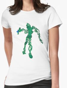 wire sculpture in pencil and insanity Womens Fitted T-Shirt