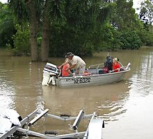 Brisbane Floods 2011 - Inundation - The Tinny by Neil Ross