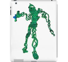 wire sculpture in pencil and insanity iPad Case/Skin