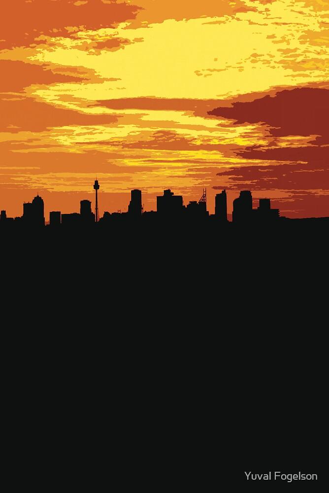 skyline by Yuval Fogelson