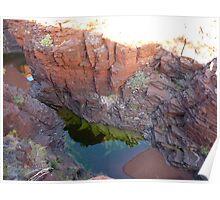 Karijini Cliffs Poster