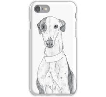 Daisy the Greyhound Dotwork iPhone Case/Skin