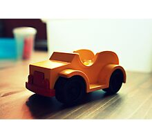 Toy Car Photographic Print
