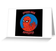Spidey Approves Greeting Card