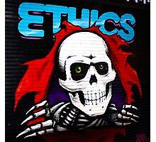 Ethics! Photographic Print
