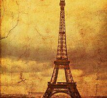 Eiffel Tower 1968 by pennyswork