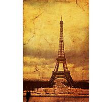 Eiffel Tower 1968 Photographic Print